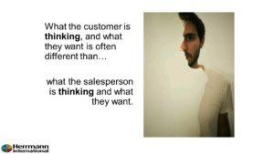 sales, thinking